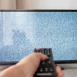 static tv signal